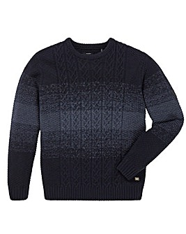 Firetrap Wood Cable Knit Jumper