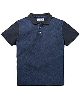 Original Penguin Jaquard Front Polo