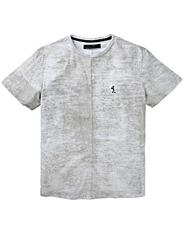 Religion Control Textured T-Shirt Long