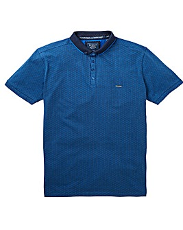 Bewley & Ritch Venis Print Polo Reg