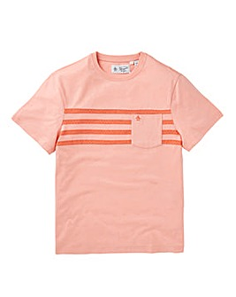 Original Penguin Printed Stripe T-Shirt