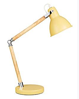 Drake Retro Yellow Desk Lamp