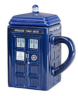 Doctor Who Tardis Ceramic Mug With Lid