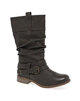 Rieker Study II Womens Calf Length Boots