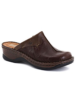 Josef Seibel Cerys Womens Leather Clogs