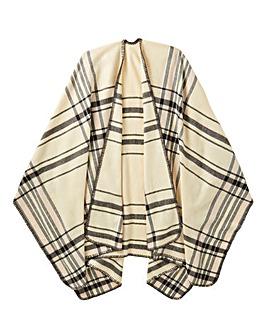Navy Blanket Wrap
