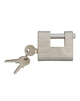 Shutter Padlock Brass 60mm