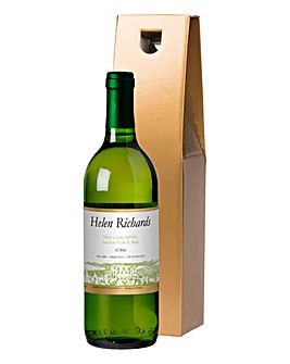 Personalised White Wine in a Gift Box