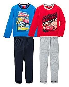 Cars Pack of Two Pyjamas