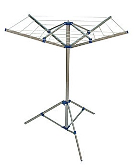 4 Arm Rotary Airer & Stand