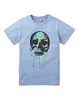 KD Boys Skull Print T-Shirt