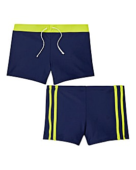 KD Boys Pack of Two Trunks