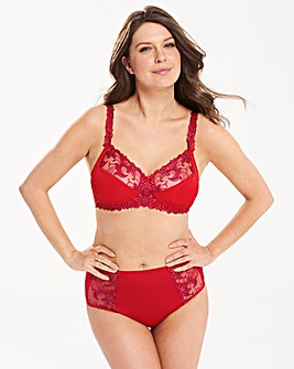 Flora Non Wired Berry/Sky Bra
