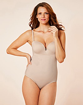 Solutions Plunge Blush Bodyshaper