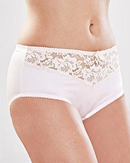 2 Pack Ella White/Champagne Shorts