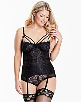 Simone Black Basque