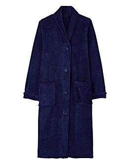 "Pretty Secrets Button Fleece Gown 42"""