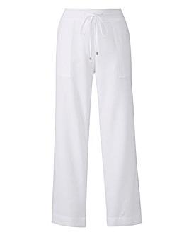 Linen Drawstring Trouser 29in