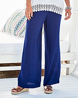 Crinkle Drawstring Trouser