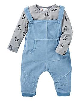 KD Baby Boy Dungaree Set
