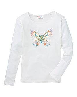 Girls Butterfly T-Shirt
