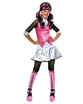 Girls Draculaura Costume + Free Gift