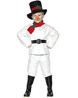 Boys Christmas Snowman Costume