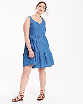 Junarose Denim Gypsy Dress