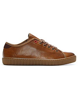 Daniel Spence Leather Lace Up Trainers