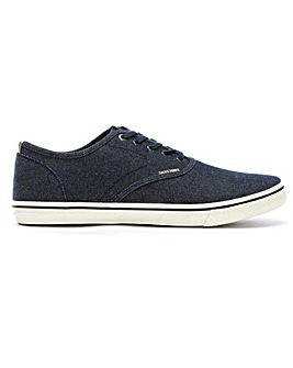Jack Jones Heath Fabric Lace Up Sneakers