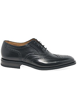 Loake 262B Mens Black Leather Brogues