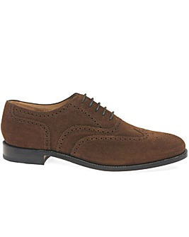 Loake Luke Suede Mens Lace Up Shoes