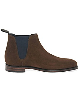 Loake Caine Mens Suede Chelsea Boots