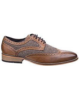 Lambretta Fenchurch Brogue Lace Shoe