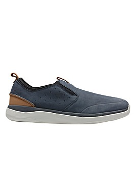 Clarks Garratt Slip  Shoes