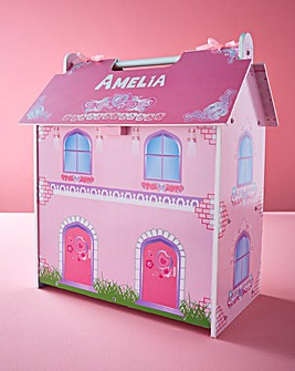 Personalised Wooden Mini Dolls House