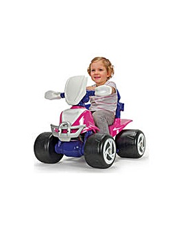 CV 6V Pink and Purple Baby Quad Bike