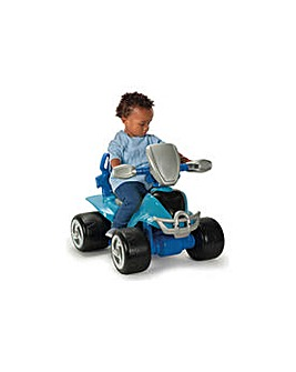 Chad Valley 6V Blue Baby Quad Bike