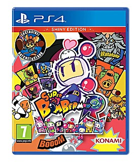 Super Bomberman R Shiny Edition PS4