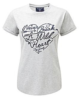 Tog24 Lilly Womens Deluxe T-Shirt Heart