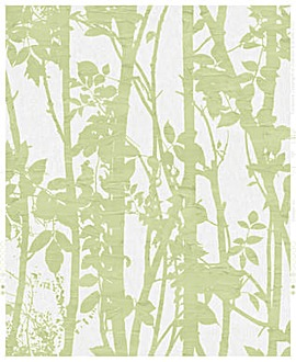 Fabric Branches Green