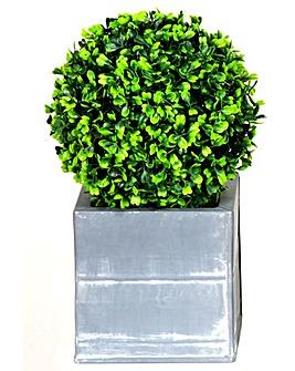 Artificial Topiary Single Ball Planter