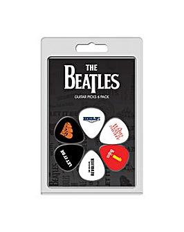 Beatles picks 6 pack