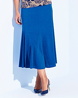 Plain Slinky Skirt Length 29in