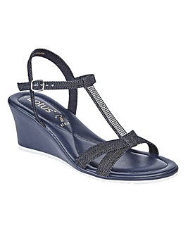 LOTUS GINEVRA WEDGE SANDALS
