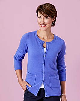 Supersoft Round-Neck Cardigan
