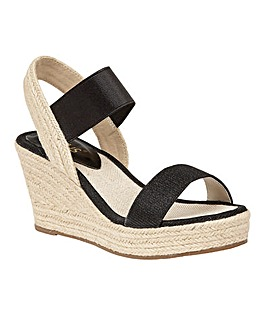 LOTUS TICO WEDGE SANDALS