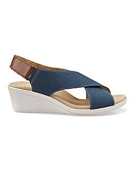 Hotter Jasmine Ladies Wedge Heel Sandal
