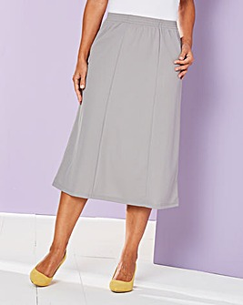 Slimma Pull-On Skirt L27in