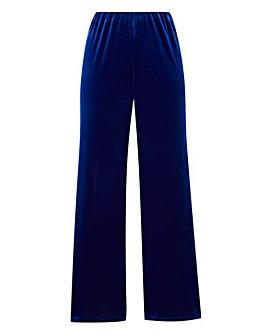 Velour Trouser Short